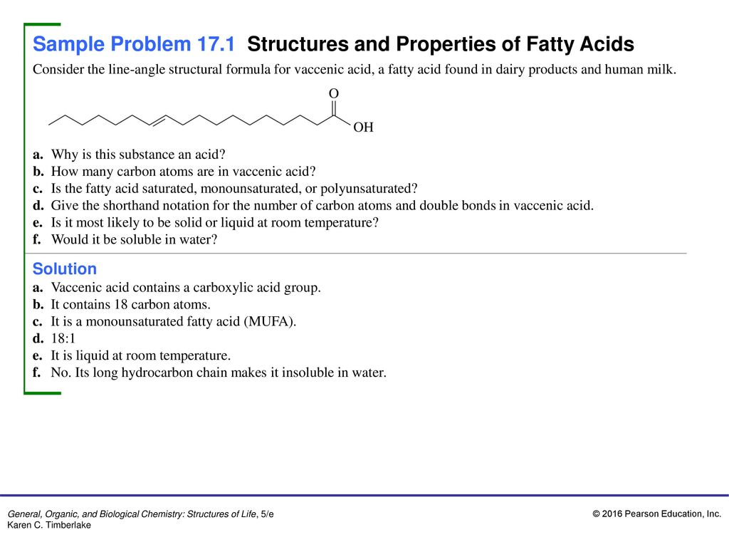 What are fats Definition, formula, classification, properties 12