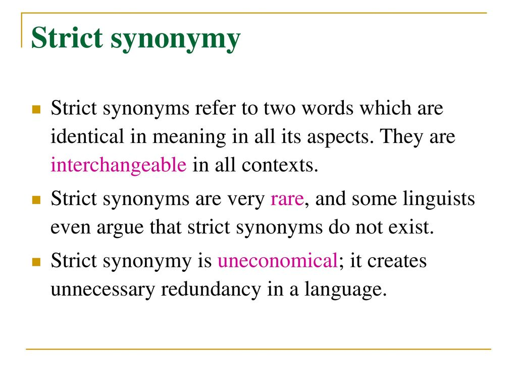 synonyms for strict