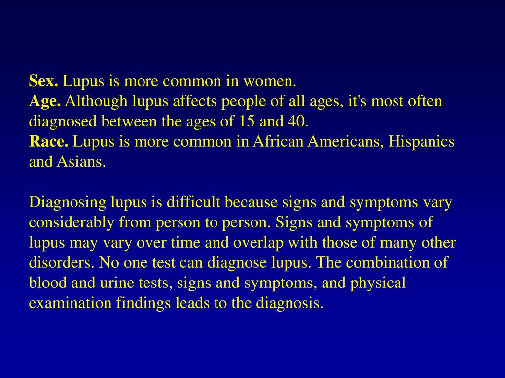 Systemic lupus erythematosus - ppt download