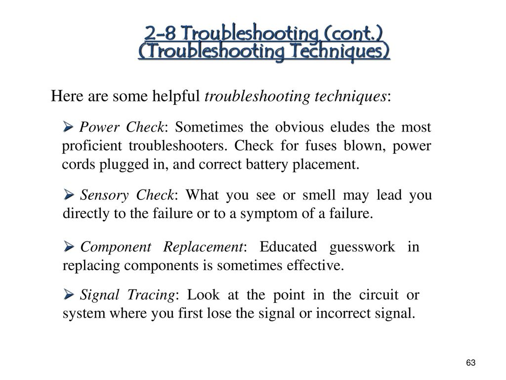 Chapter 1 Diode Applications Ppt Download Rectifiercircuits2 63 2 8 Troubleshooting