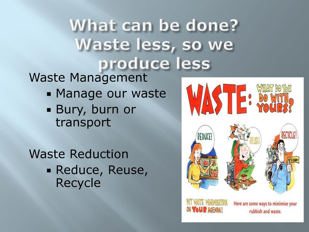 Waste Generation and Waste Disposal - ppt download