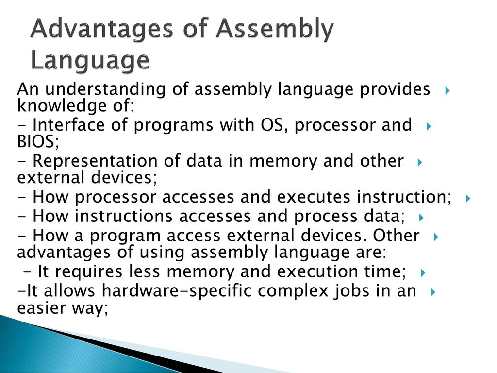 Assembly language  - ppt download