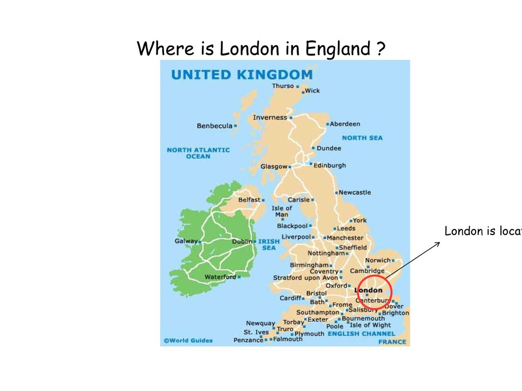 Where is London