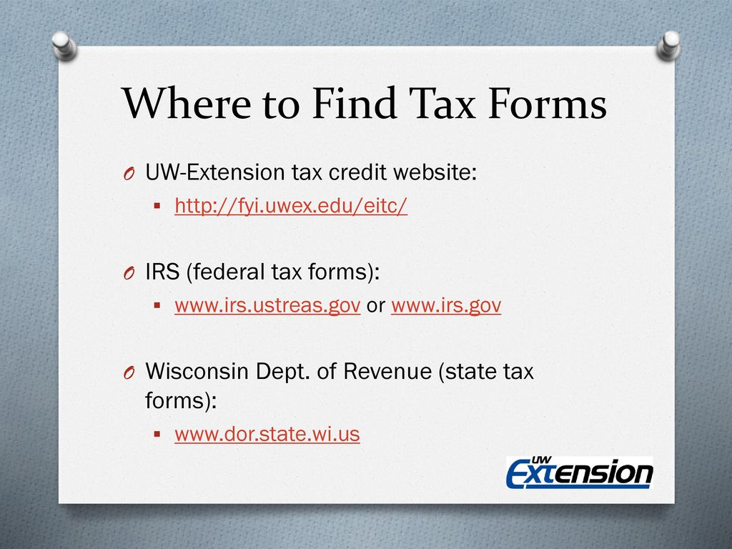 Tax Credits Your Money. You Earned it. Now Claim it! - ppt download