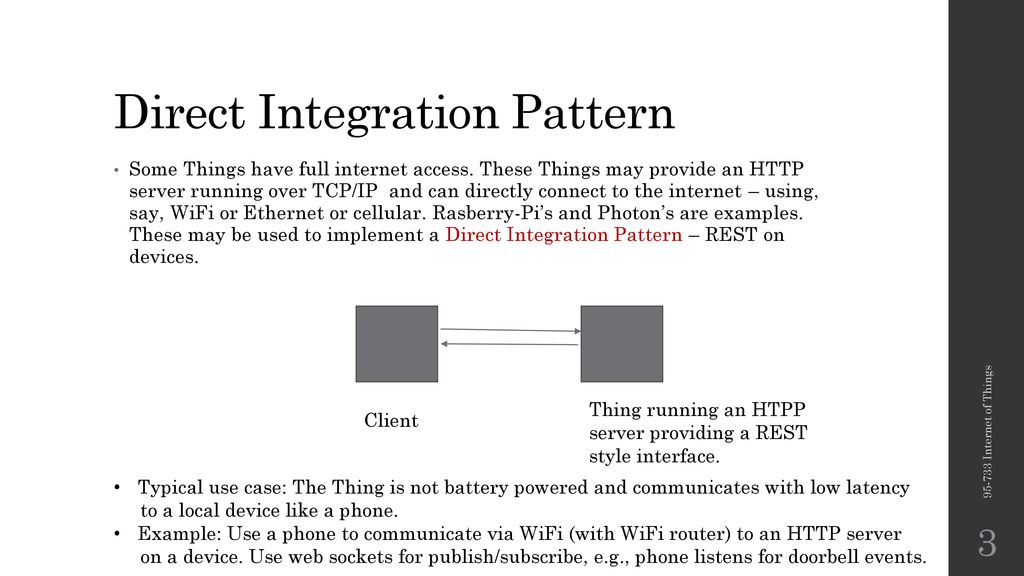 IoT Integration Patterns, REST, and CoAP - ppt download