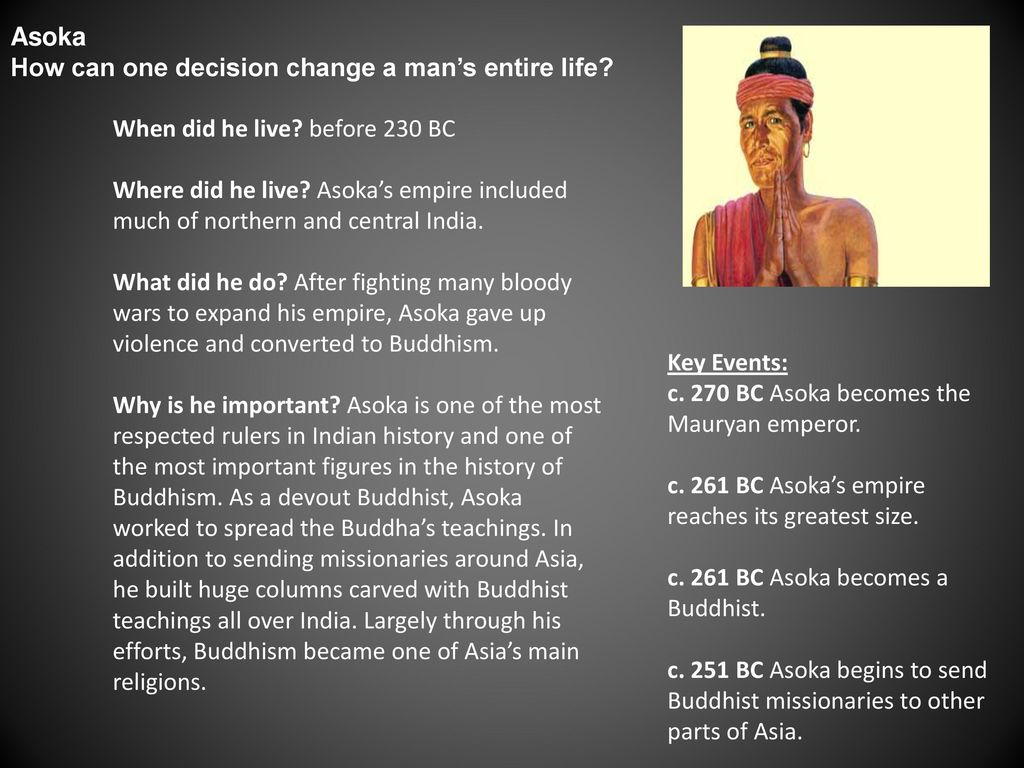 who was asoka and what did he do