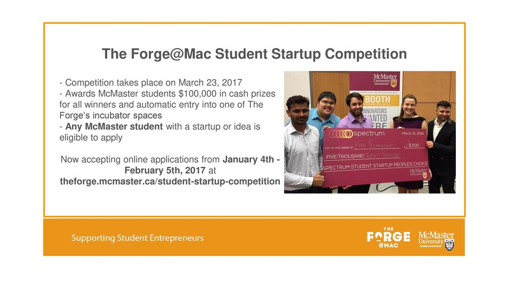 The Student Startup Competition - ppt download
