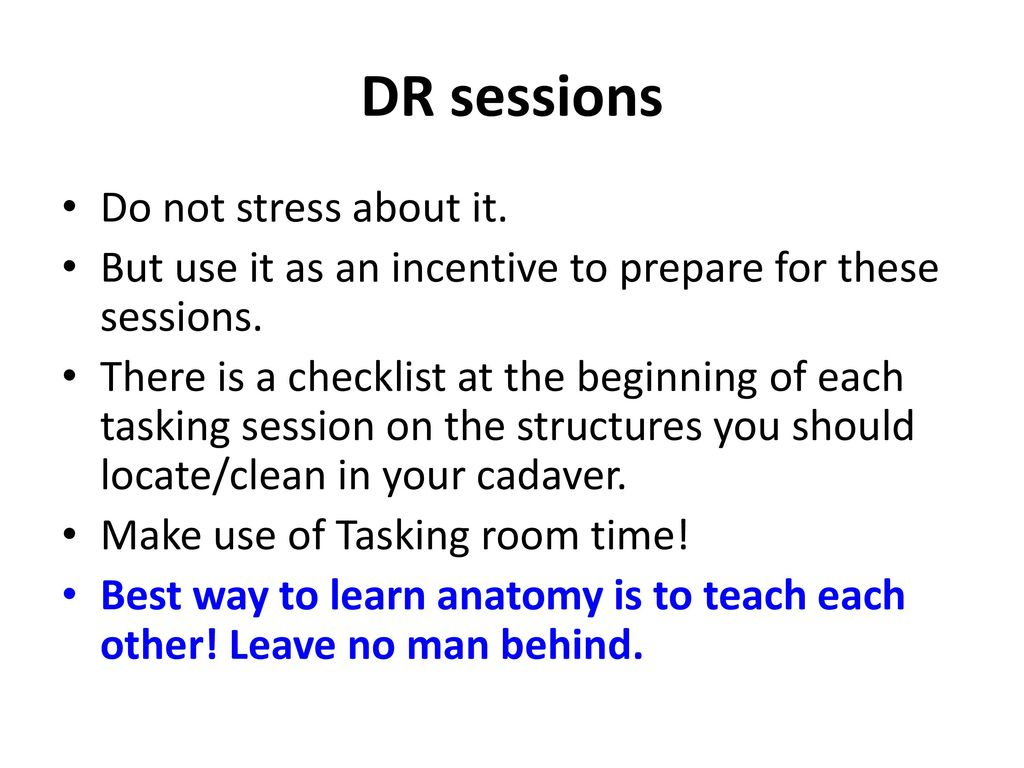 Introduction To Anatomy Ppt Download