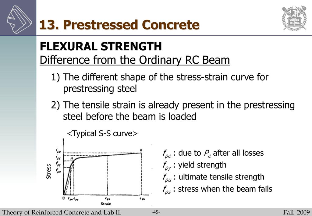 Theory of Reinforced Concrete and Lab  II - ppt download