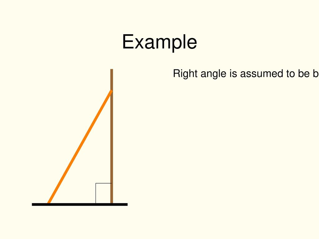 Sides in a right angled triangle - ppt download