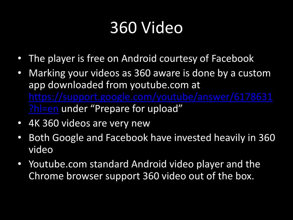 360 Video On Android Tony Constantinides CEO Constant