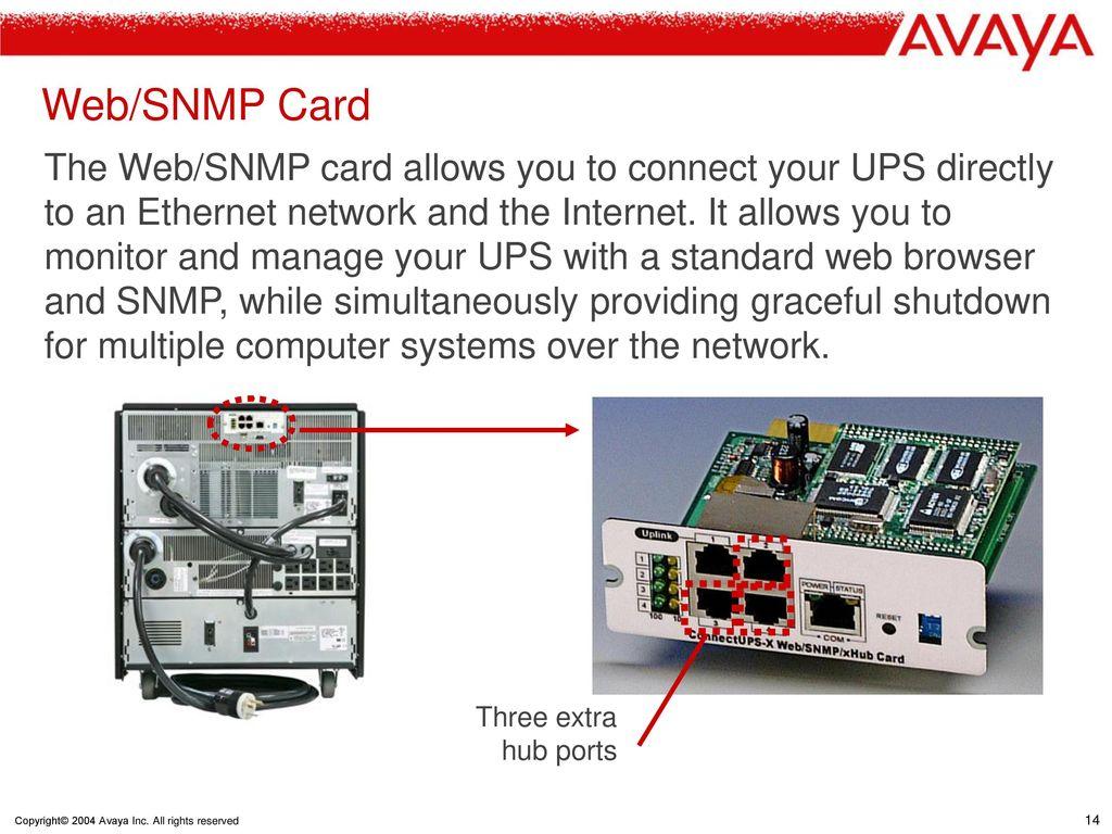 Avaya Online UPS 6000 VA  - ppt download