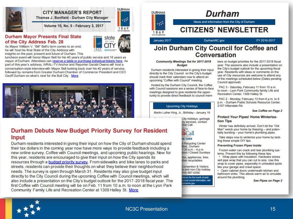 Durham S Budget Engagement Ppt Download