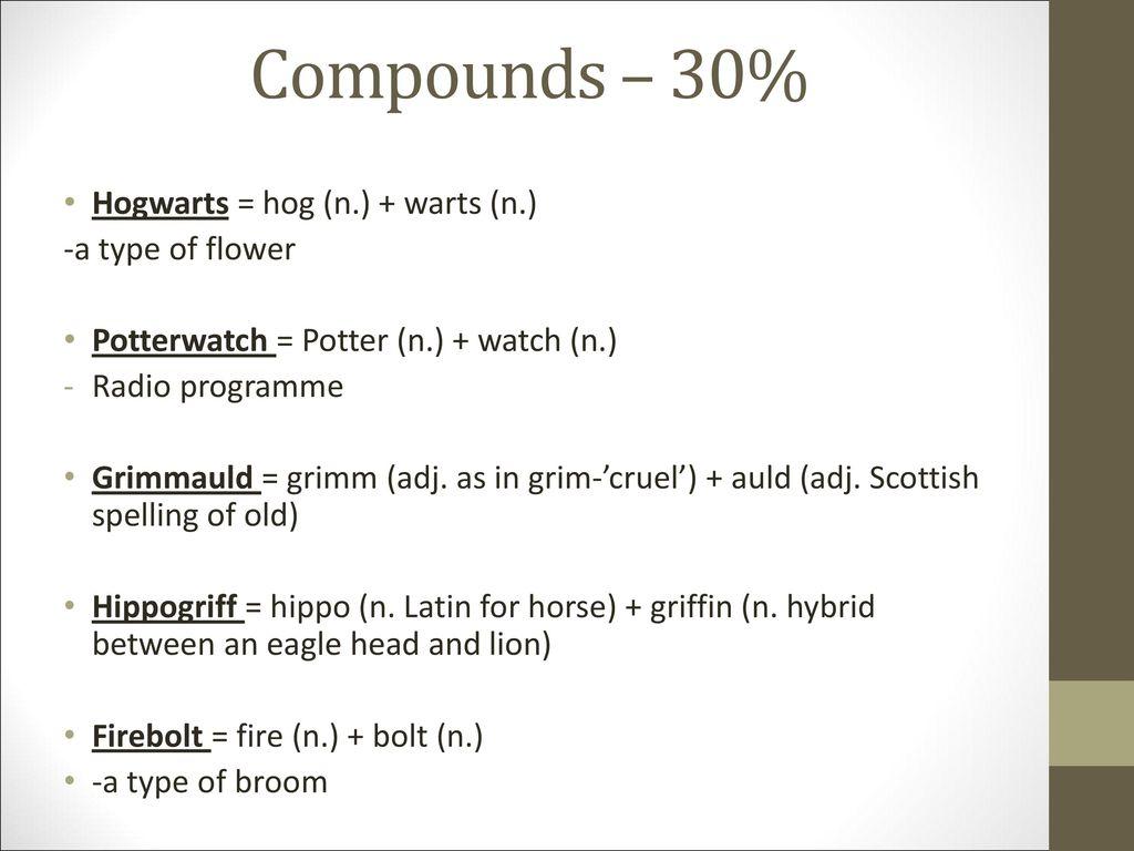3 Compounds