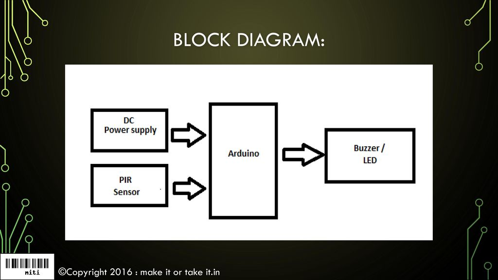 Home automation using Arduino & 'PIR sensor' - ppt download