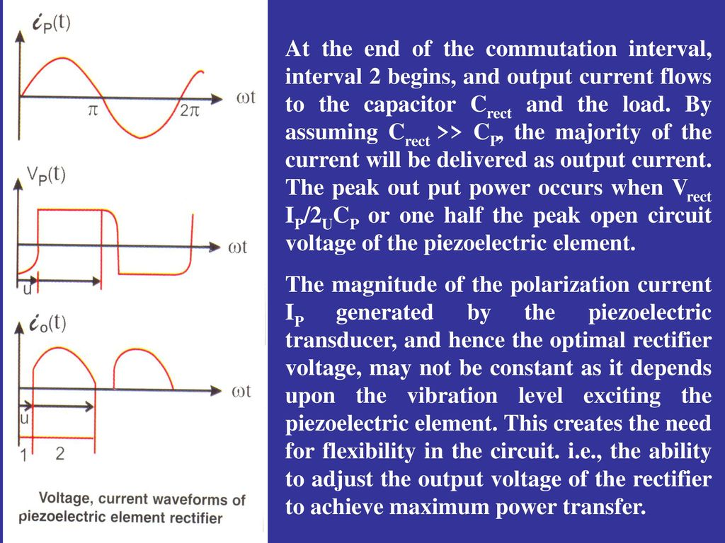 Piezoelectric Energy Harvesting For Ppt Download Transducer Circuit 17 At