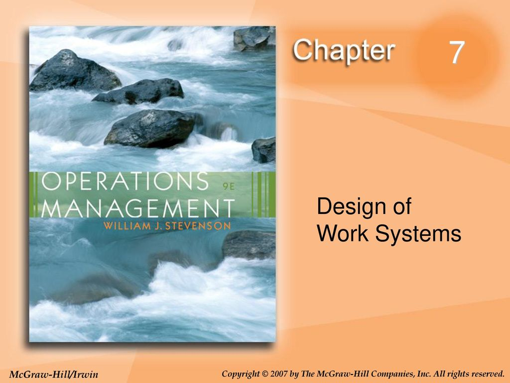 7 Design Of Work Systems Ppt Download