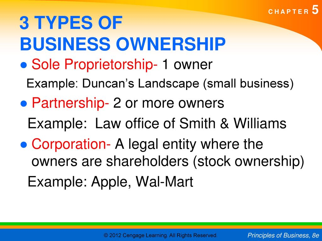 Business law, law of partnership.