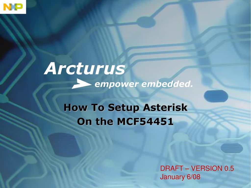 How To Setup Asterisk On the MCF ppt download