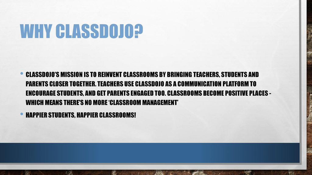 Class Dojo By: Paige Tappert  - ppt download