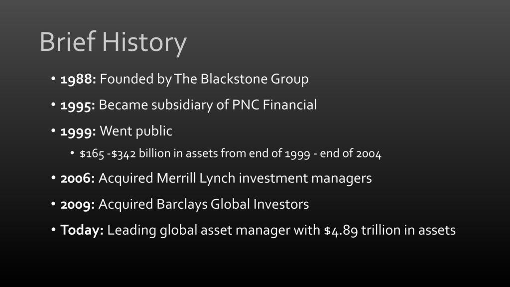Blackrock Financial Planning Investment Management Ppt Download