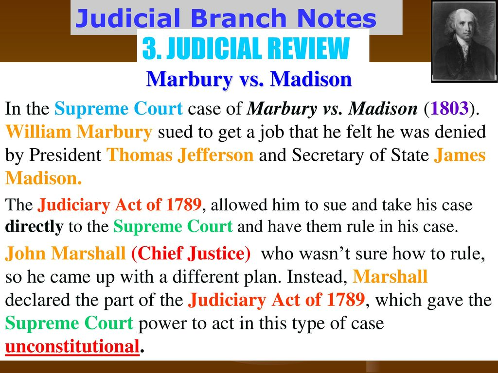 Judicial Branch Notes  - ppt download