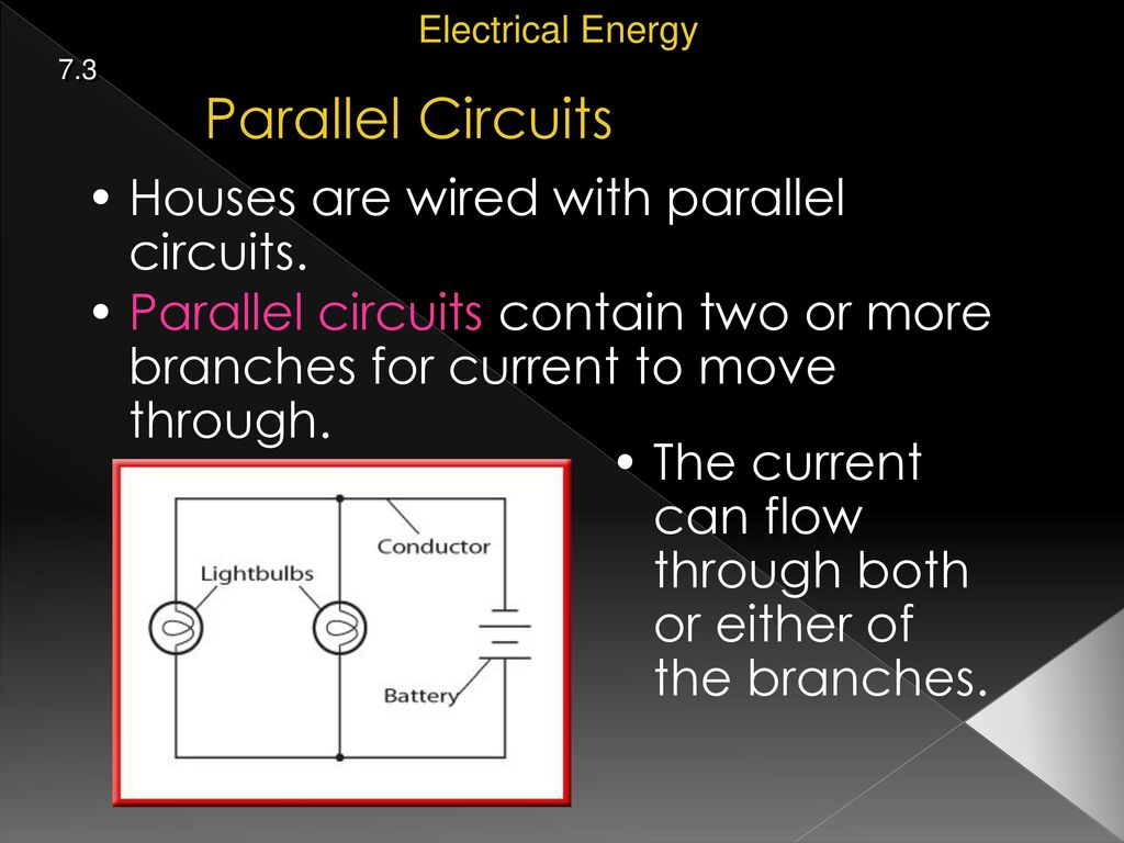 Fantastic Why Are Parallel Circuits Used In Homes Vignette ...