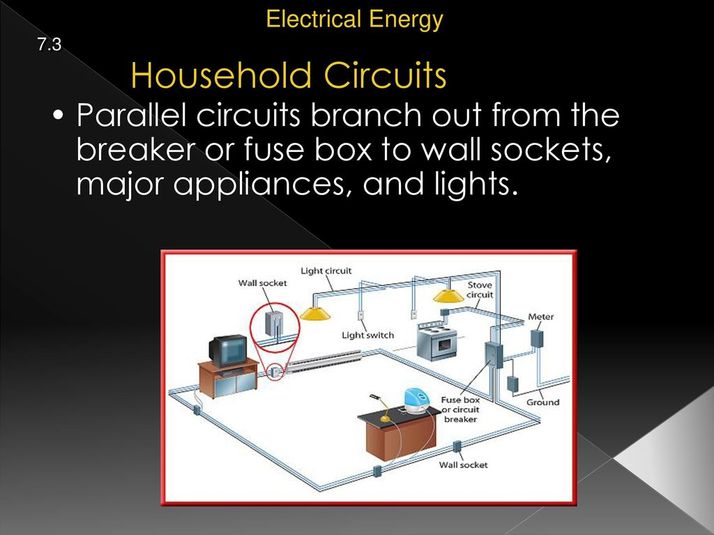 Physical Science 73 Electrical Energy Ppt Download Parallel Home Wiring Basics 8 Household Circuits