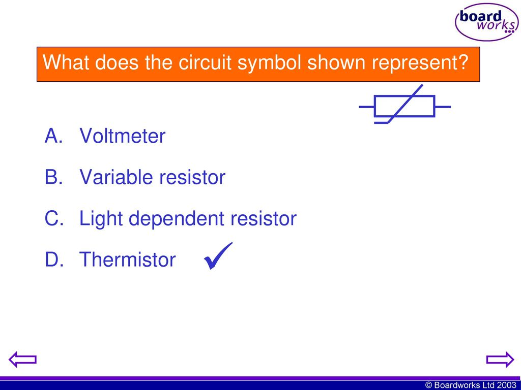 Nice Variable Resistor Circuit Symbol Component - Electrical System ...