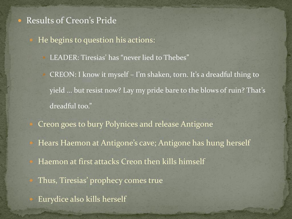 pride in antigone