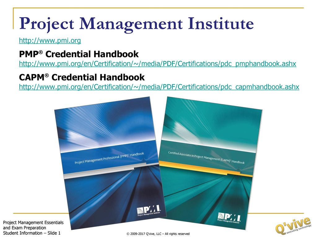 Project Management Institute Ppt Download