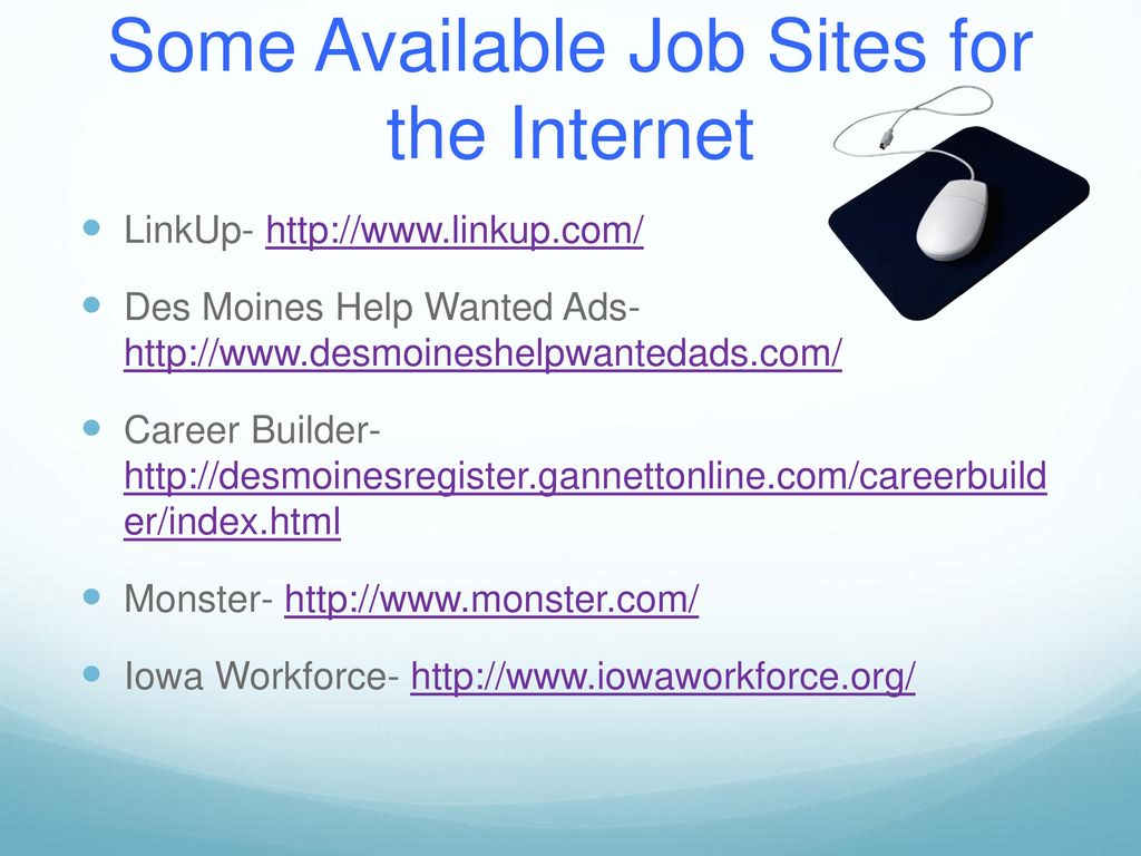 where do i go to find a job? - ppt download