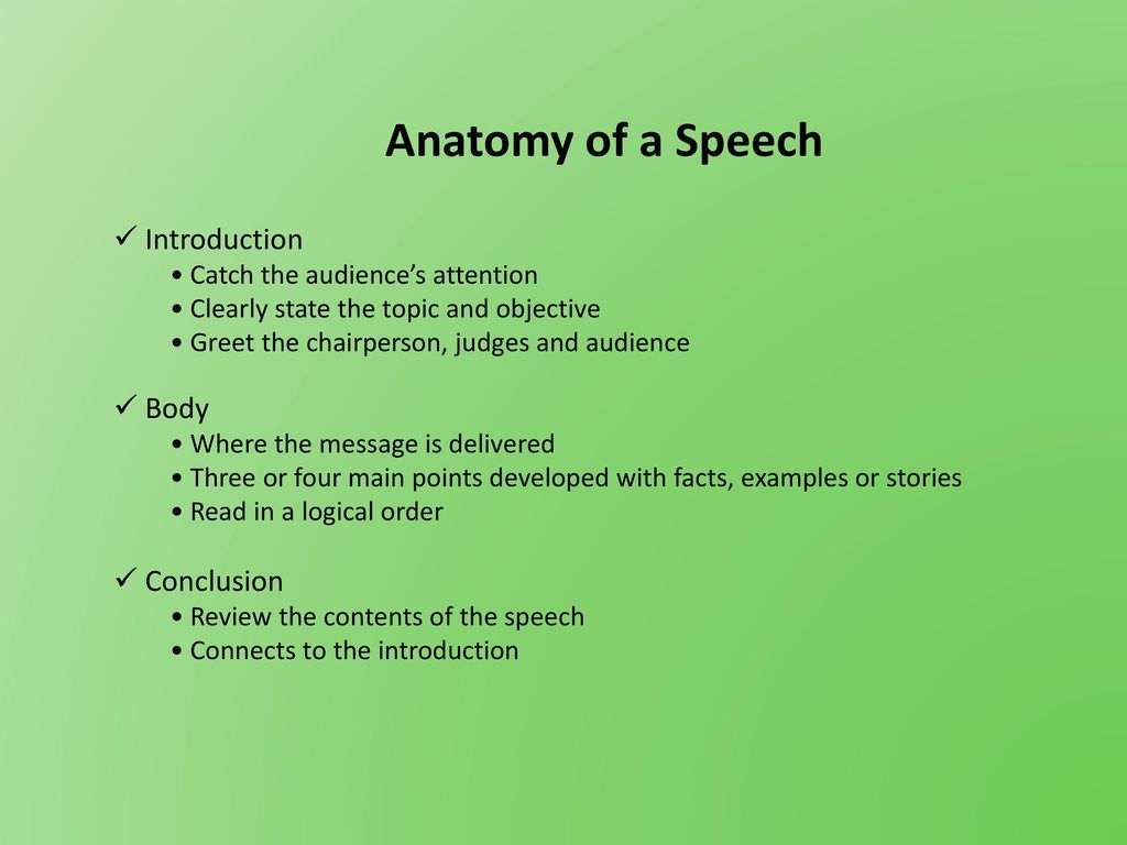Communications How To Write A Speech Ppt Download