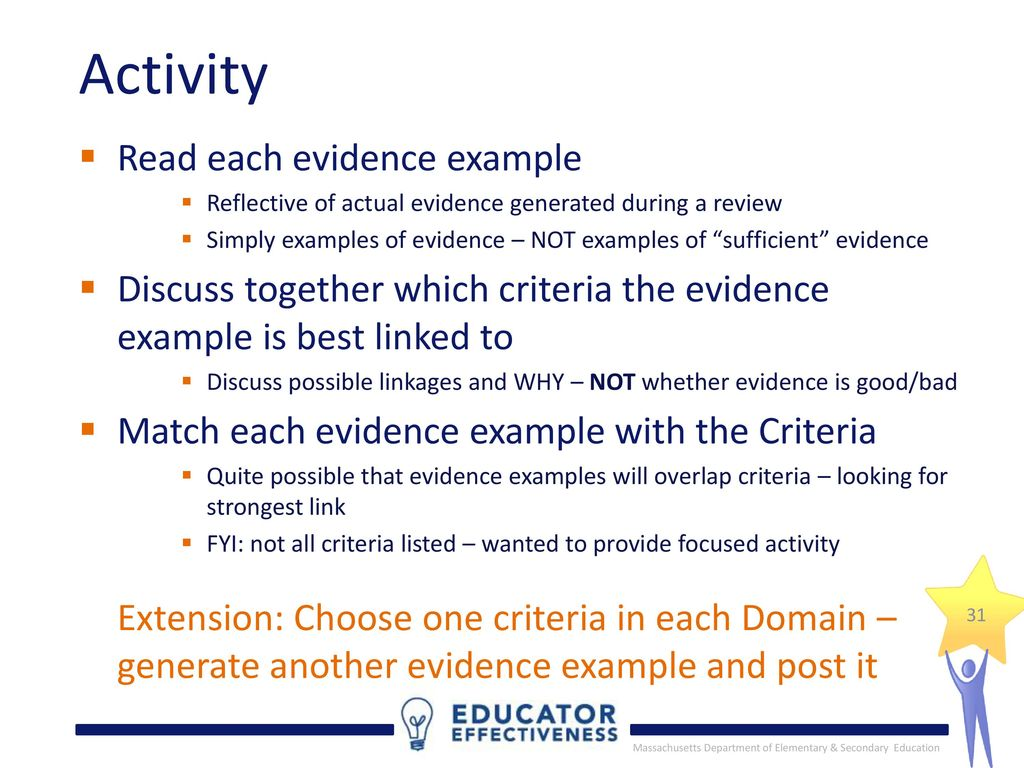 a1 assessor evidence example Assessment evidence  for example, observations of performance could be used to assess an apprentice for workplace management skills, knowledge of the subject.