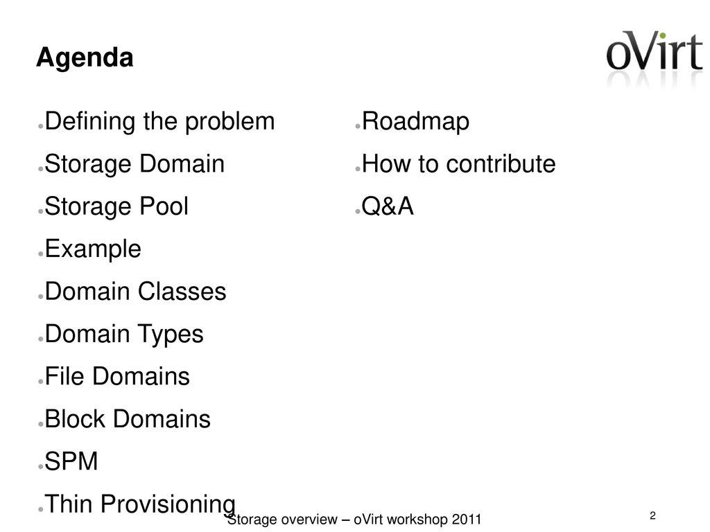 Ovirt Storage Overview - ppt download