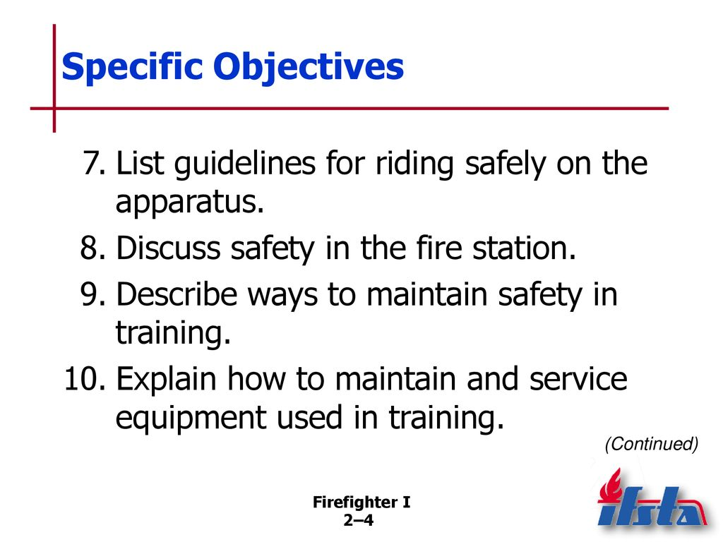 Essentials Of Fire Fighting 5th Edition Ppt Download Engines Diagram Traffic Cone List Guidelines For Riding Safely On The Apparatus 8 Discuss