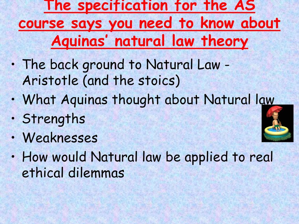 natural law strengths