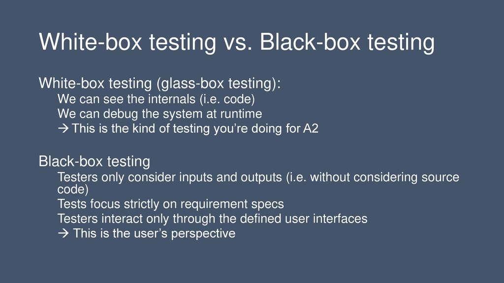 Testing Verification and the Joy of Breaking Code - ppt download