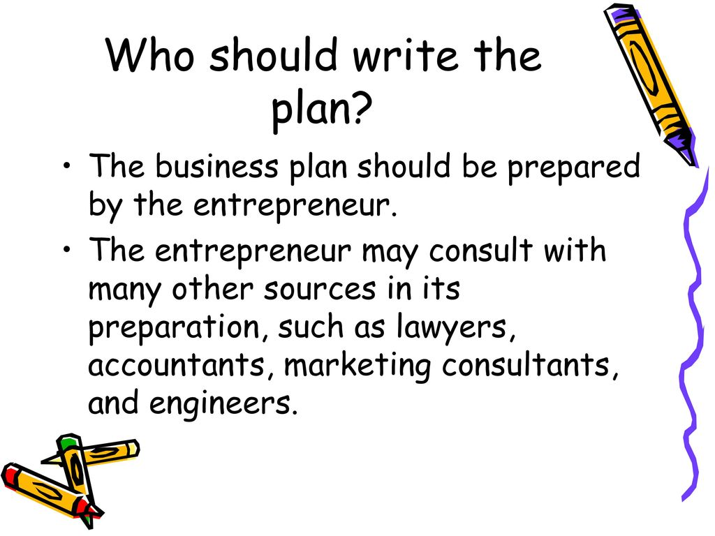 when should a business plan be prepared