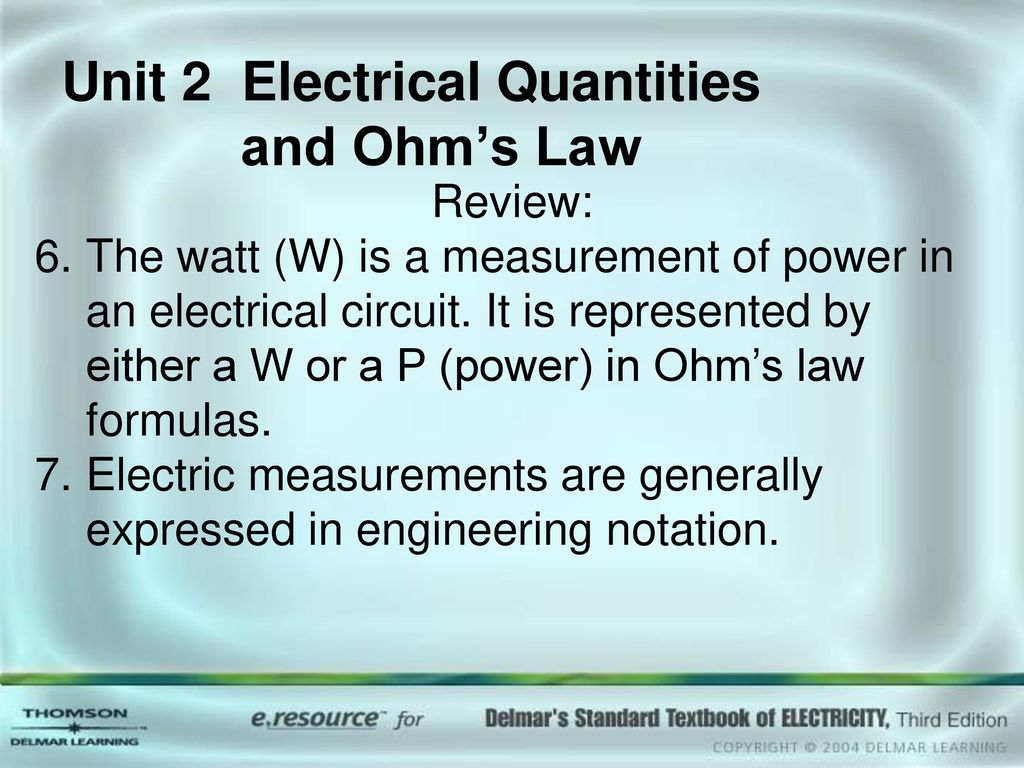 Unit 1 Atomic Structure Objectives Ppt Download Measurements In Electric Circuits 2 Electrical Quantities And Ohms Law