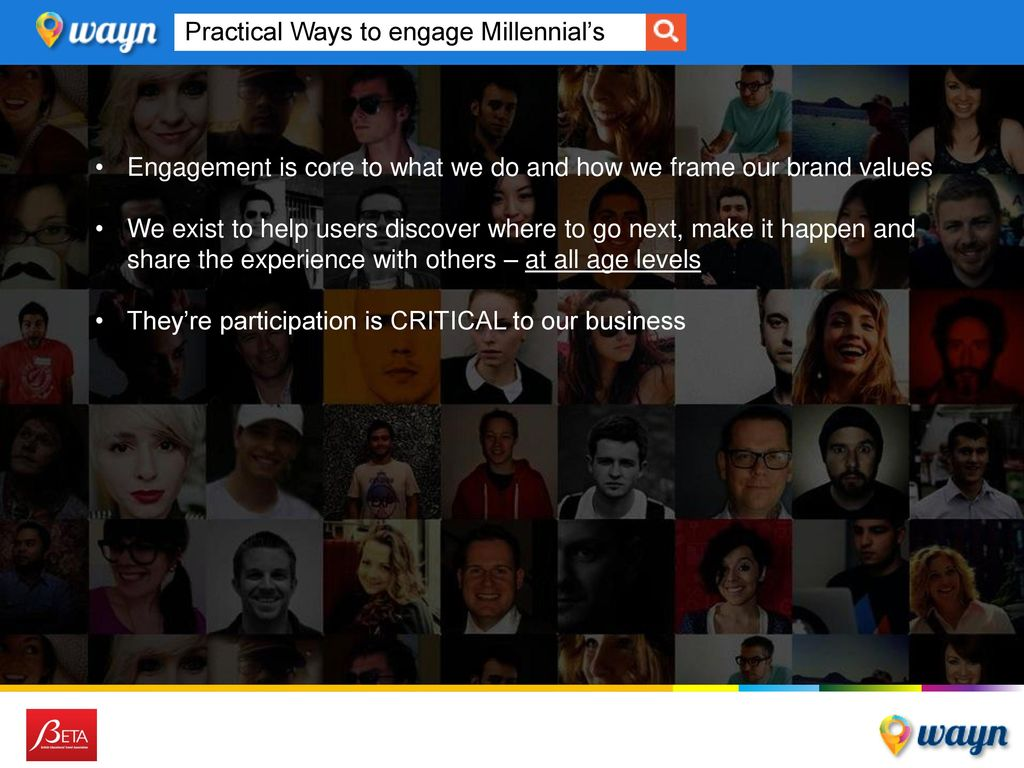 Practical Ways to engage Millennial's