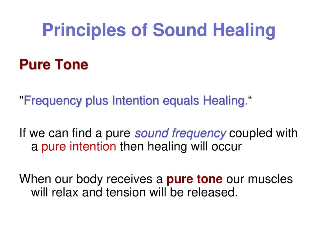 VIBRATIONS THE HEALING VOICE The simplest and most cost
