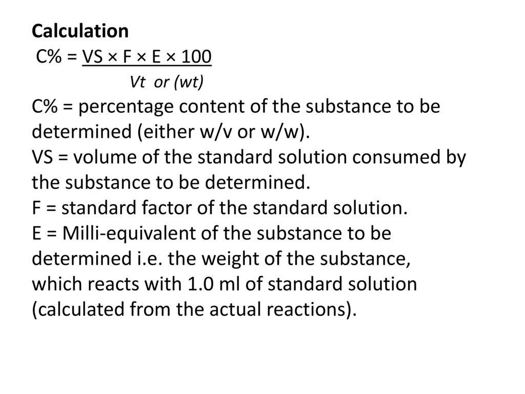 Determination of Acetic Acid in Vinegar Principle Acetic acid, can