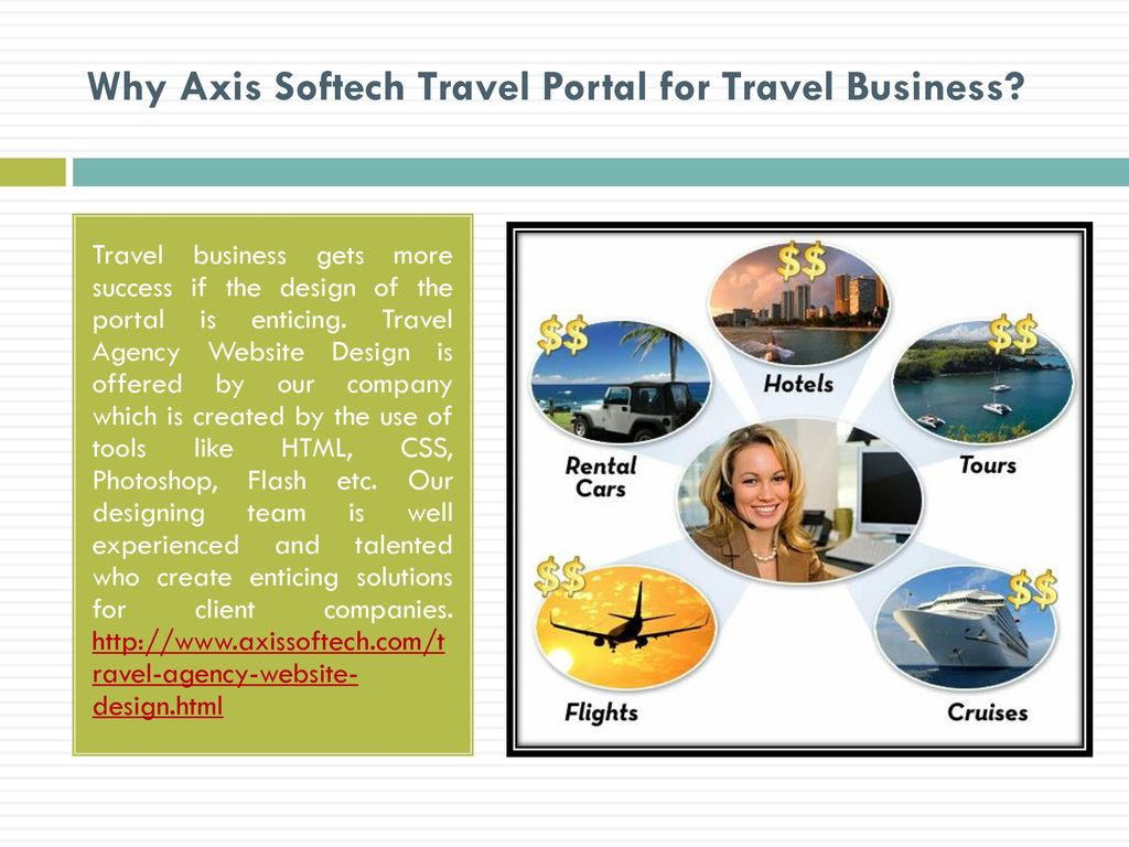 Axis Softech: Best Travel Portal Development Company - ppt
