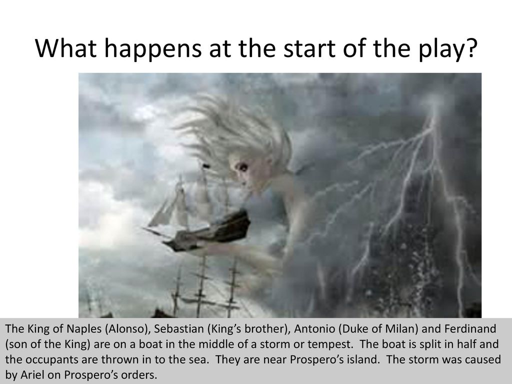 the tempest explained