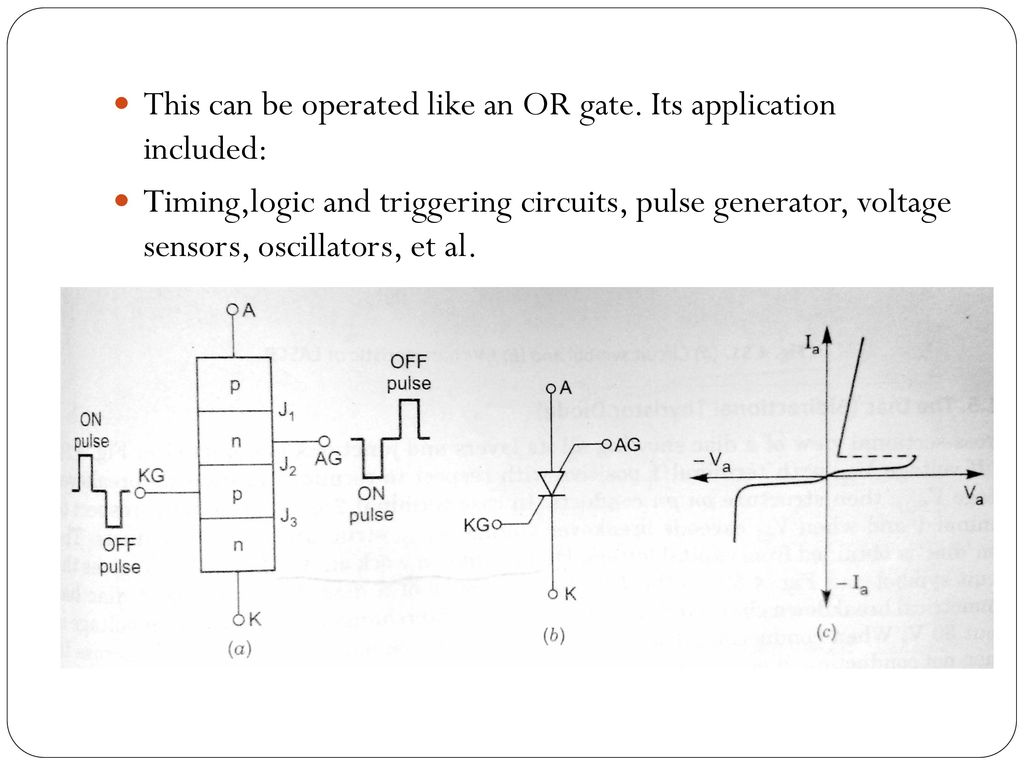 Other Members Of Thyristor Family Ppt Download Time Delay Circuit Using A Ujt And Two Scrs Diagram 6 This