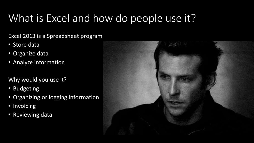 what is excel and how do people use it