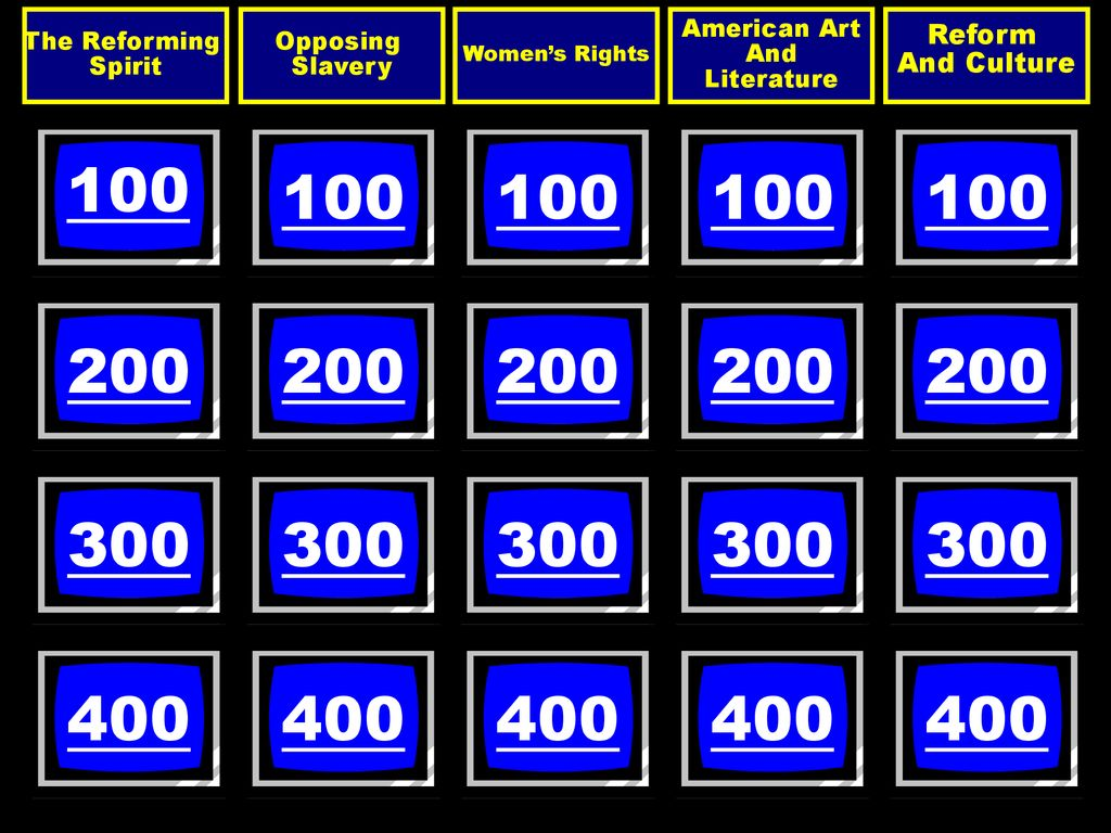 Are You Ready Jasons Jeopardy Template May 31 Ppt Download