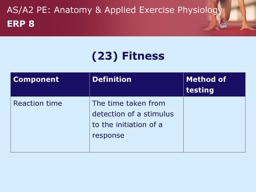 1 Fitness Component Definition Method Of Testing Ppt Download