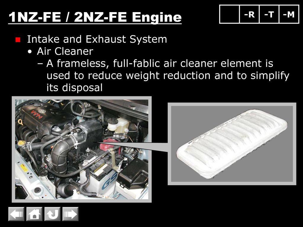 1NZ-FE / 2NZ-FE Engine Engine Overall Engine Proper Valve